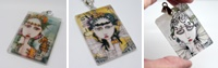 Painted Lady Necklaces