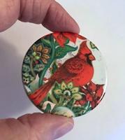 Cardinal 2 inch round