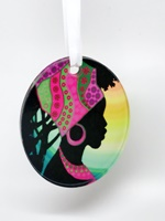 African Beauty ornament