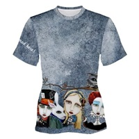 Alice In Wonderland Long T-Shirt