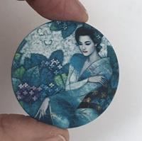 Asian Blue matte
