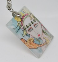 Being Koi Crystal Pendant/Necklace