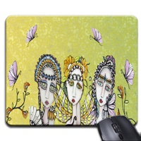 Ladies of Bella Donna Mouse Pad