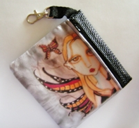 Butterfly Kisses Zippered Pouch