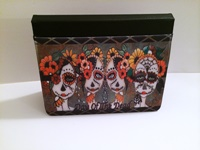 Day of the Dead Ladies iPad Case