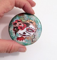 Day Of The Dead 19 Button