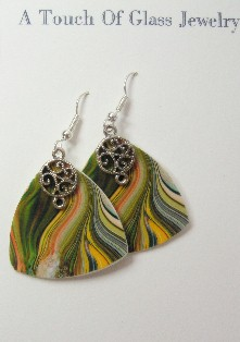 Flaming Paradise Earrings