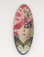 Flower Girl Hat long oval