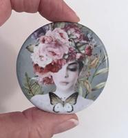 Flower Girl Hat 2 inch round