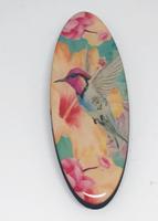 Humming Bird Peach long oval