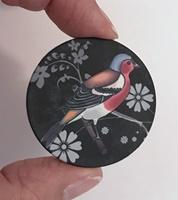 """Bird #1 1.5"""" matte"""