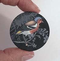 """Bird #3 1.5"""" matte"""