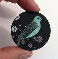 """Bird #4 1.5"""" matte"""