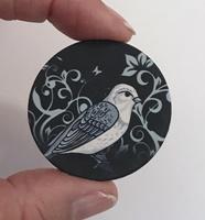 """Bird #6 1.5"""" matte"""