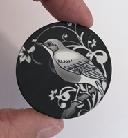 """Bird #7 1.5"""" matte"""