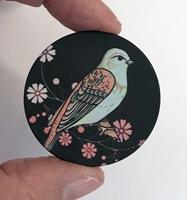 """Bird #10 1.5"""" matte"""