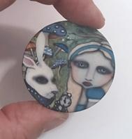 Alice in Wonderland 1.5 inch matte