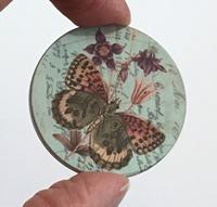 """Butterfly 2 1.5"""" matte"""