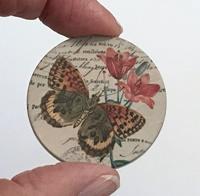 """Butterfly 5 1.5"""" matte"""