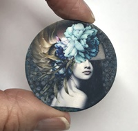 The Blue Rose 1.5 inch matte