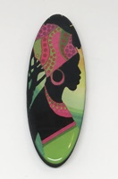 African Beauty long oval