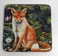 Foxy Friends 2 inch square