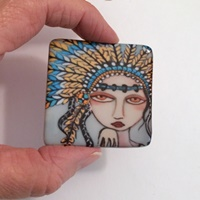 Indian Princess 2 inch square cab