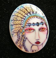 Indian Princess Cameo