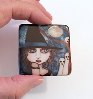 I See You 2 inch cabochon