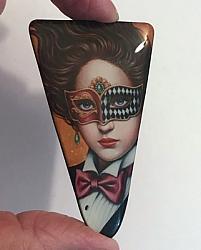 Masquerade Ball Two Triangle