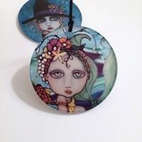"Mermaid 3"" Acrylic Ornament"