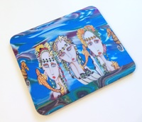 Mermaids Mouse Pad