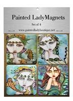 Mermaids Magnet Set