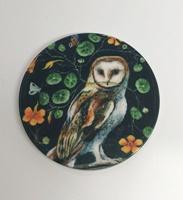 Mystical Owl 1.5 inch matte