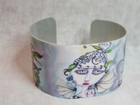 Painted Lady Cuff Bracelet