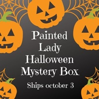 Painted Lady Halloween Mystery Box