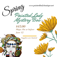 Painted Lady Spring Mystery Box
