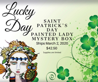 Saint Patrick's Day Painted Lady Mystery Box