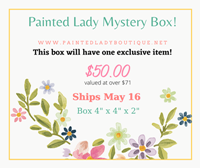 May Painted Lady Mystery Box