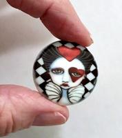 Queen of Hearts 27mm