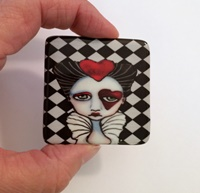 Queen of Hearts 2 inch Cabochon