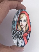 Riding Hood large oval