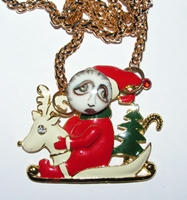 Santa's Helper Necklace