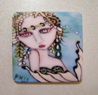 Seamist Mermaid Magnet