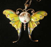 Sunshine Fairy SNOOKS Necklace