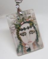 Woodland Fairy Crystal Pendant/Necklace