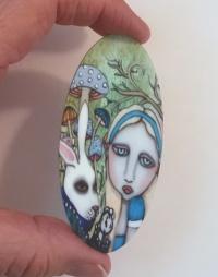 Alice In Wonderland large oval