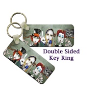 Alice In Wonderland Key Tag