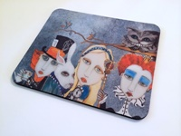 Alice and The Tea Party Mouse Pad