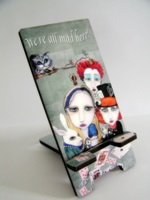 Alice In Wonderland Tea Party Phone Stand